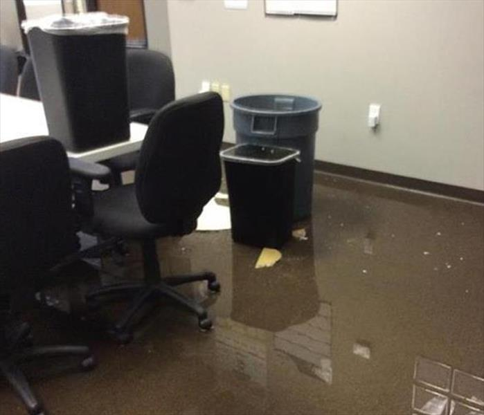 Phoenix Office and Standing Water Before