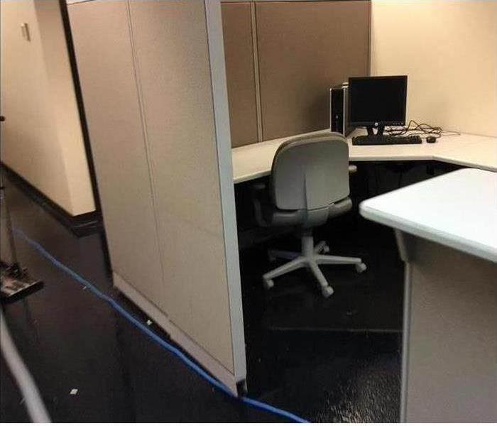 Commercial Water Damage - Phoenix Offices