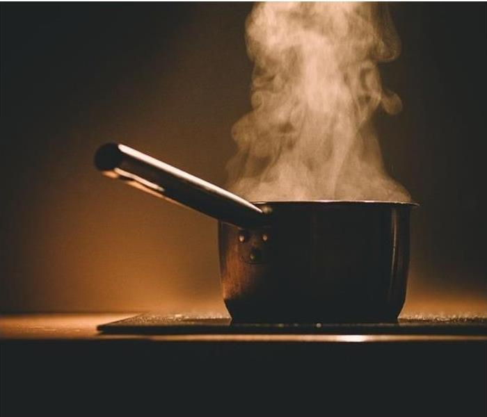 Unwatched pots can lead to a kitchen fire